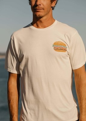 Mollusk Surf Shop Cheeseburger Tee