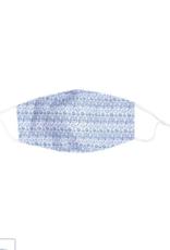 Rock Flower Paper Abigail Blue Mask