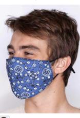 Rock Flower Paper Bandana Mask