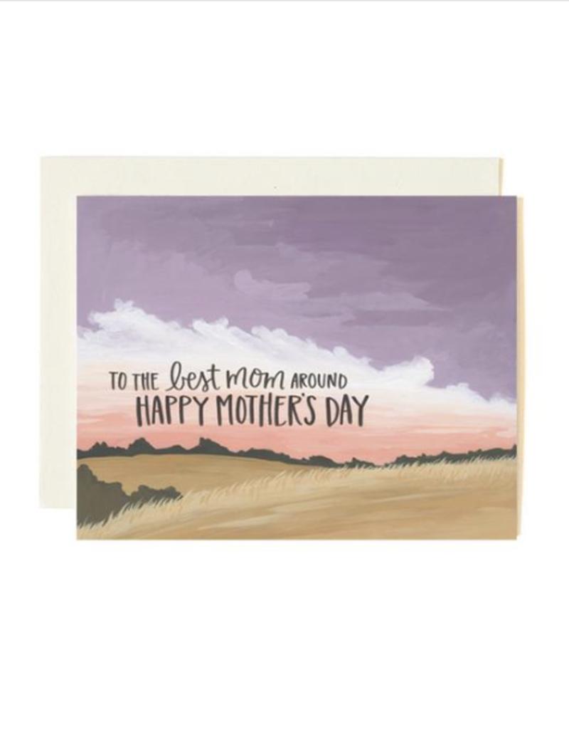 Best Mom Around Card