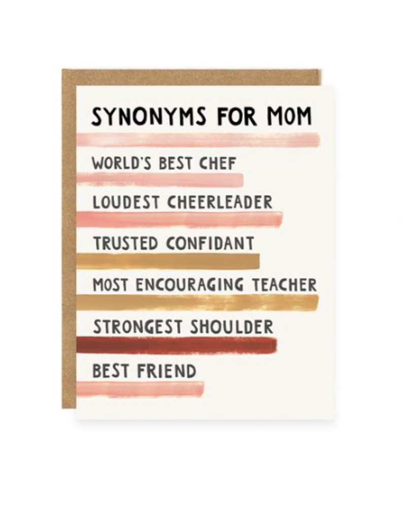 Synonyms For Mom Card