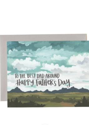 Best Dad Around Card