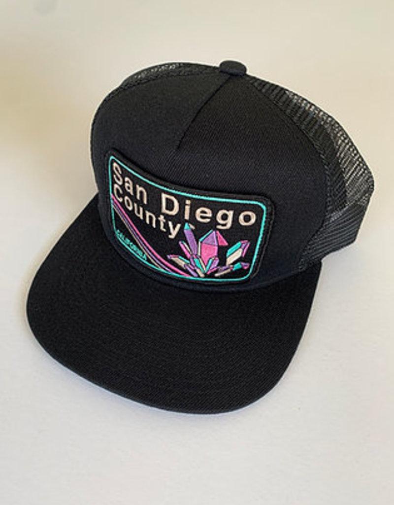 Venture San Diego Black Townie Trucker