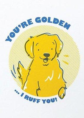 You're Golden Card