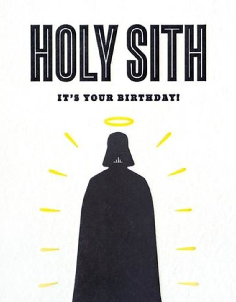 Holy Sith Card