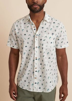 Marine Layer Printed Pohaku Shirt
