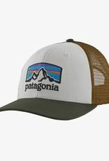 Patagonia Fitz Roy Horizons Trucker Hat White w/ Kelp Forest
