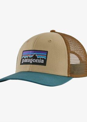 Patagonia P-6 Logo Trucker Hat- Nautilus Tan
