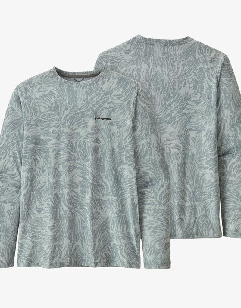 Patagonia M's LS Cap Cool Daily Fish Shirt