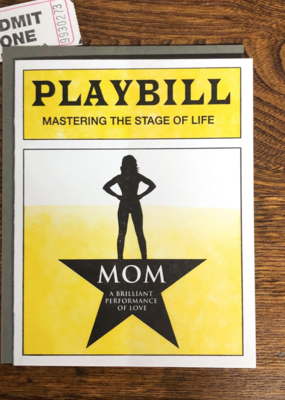 Favorite Design Mom Playbill
