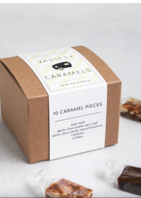 Variety Caramel Box - 10 Pieces