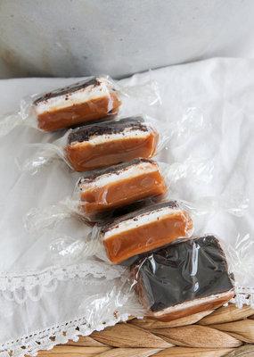 Dark Chocolate Marshmallow Caramels-10 Piece Box