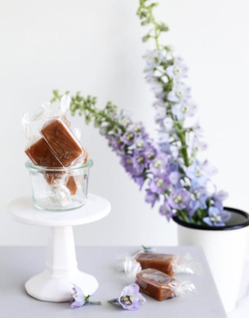 Honey Lavender Caramels- 4 Piece Bag