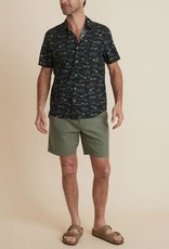 Marine Layer SS Printed Pohaku Shirt