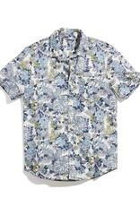 Marine Layer SS Printed Bolton Shirt