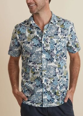 Marine Layer SS Printed Bolton Shirt