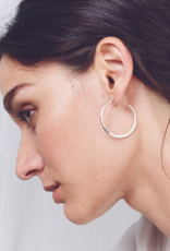 Colleen Mauer Tri-toned Classic Hoops