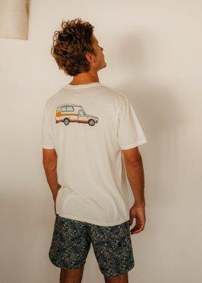 Mollusk Surf Shop Chinook Tee- White