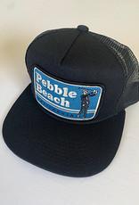 Venture Pebble Beach Black Townie Trucker