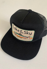 Venture Lake Of The Sky Black Townie Trucker