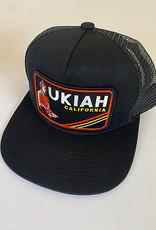 Venture Ukiah Black Townie Trucker
