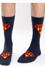 Good Luck Sock Super Dad Socks