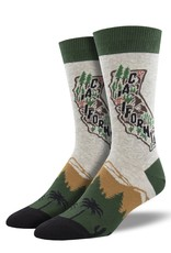 Golded State Heather Grey Socks