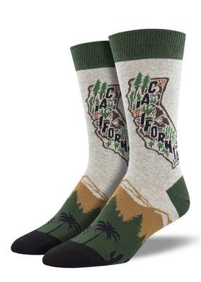Golden State Heather Grey Socks