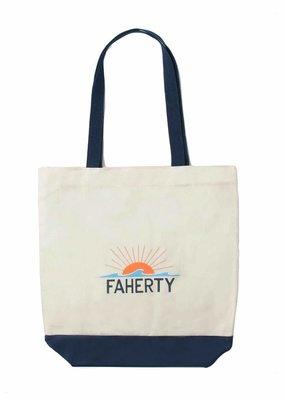 Faherty Faherty Signature Canvas Tote
