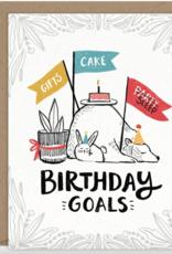 Birthday Goals Card