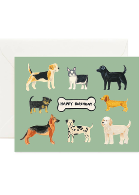 Forage Paper Co. Birthday Dogs