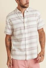 Marine Layer SS Striped Selvage Shirt