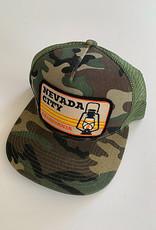 Venture Nevada City Camo Townie Trucker