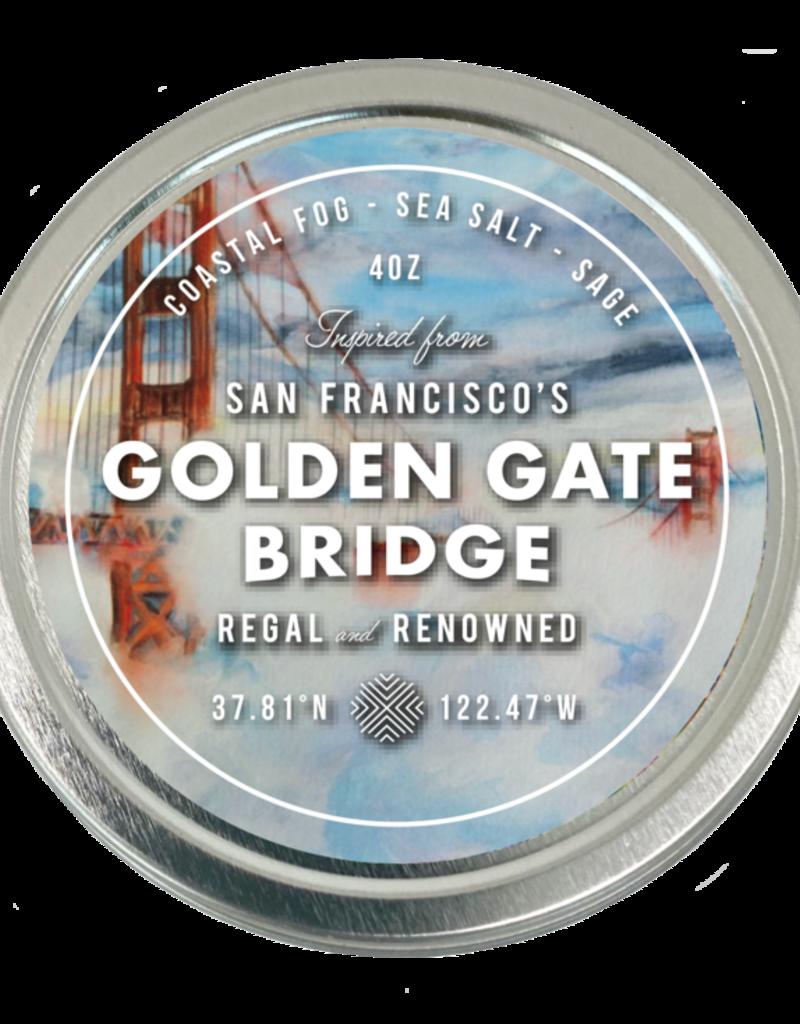 San Francisco Travel Candle