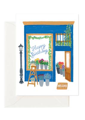 Florist Birthday Card