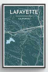 Venture Lafayette Map Print