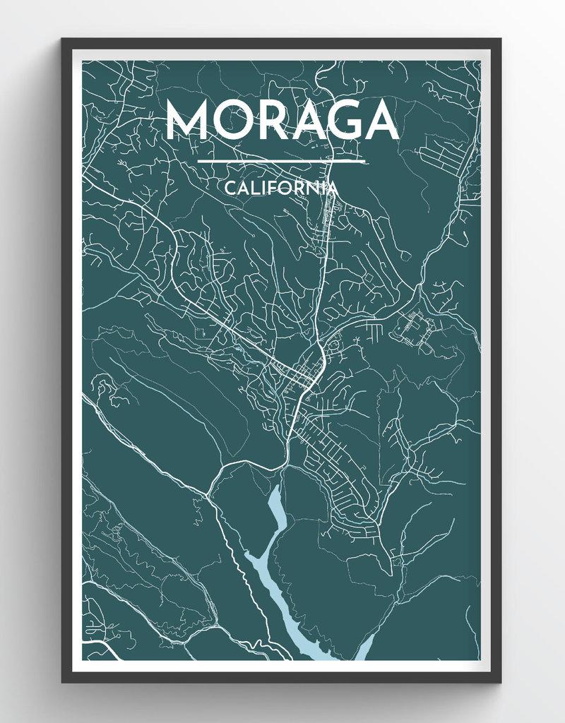 Venture Moraga Map Print