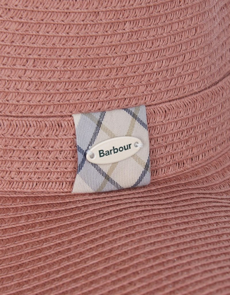 Barbour Wel Tar Sun Hat Rose