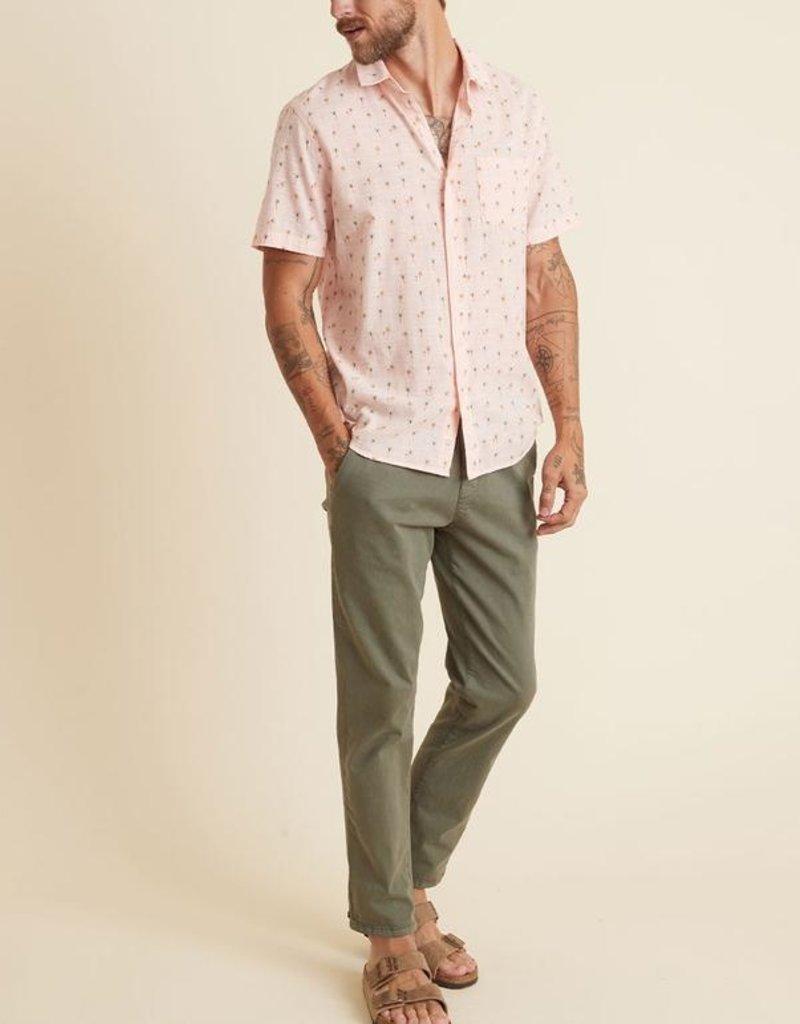Marine Layer SS Lightweight Cotton Shirt
