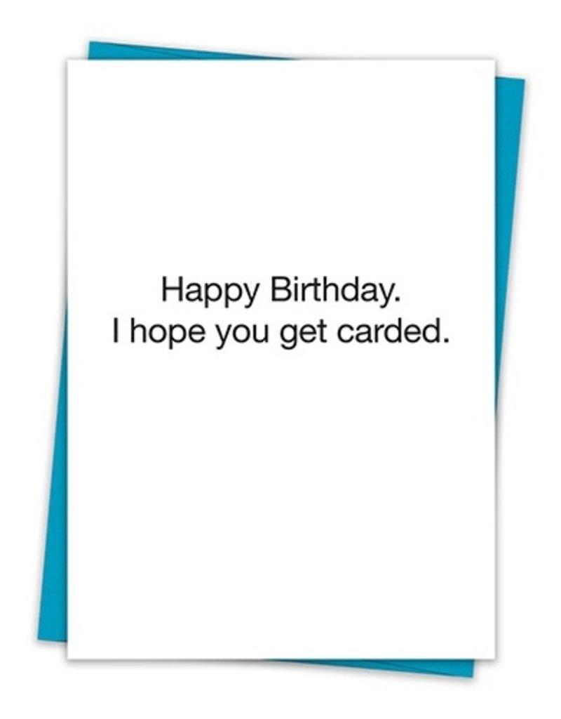 Carded Card