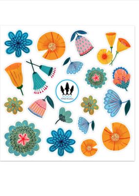 3 Fish Studios Floral Sticker Sheet