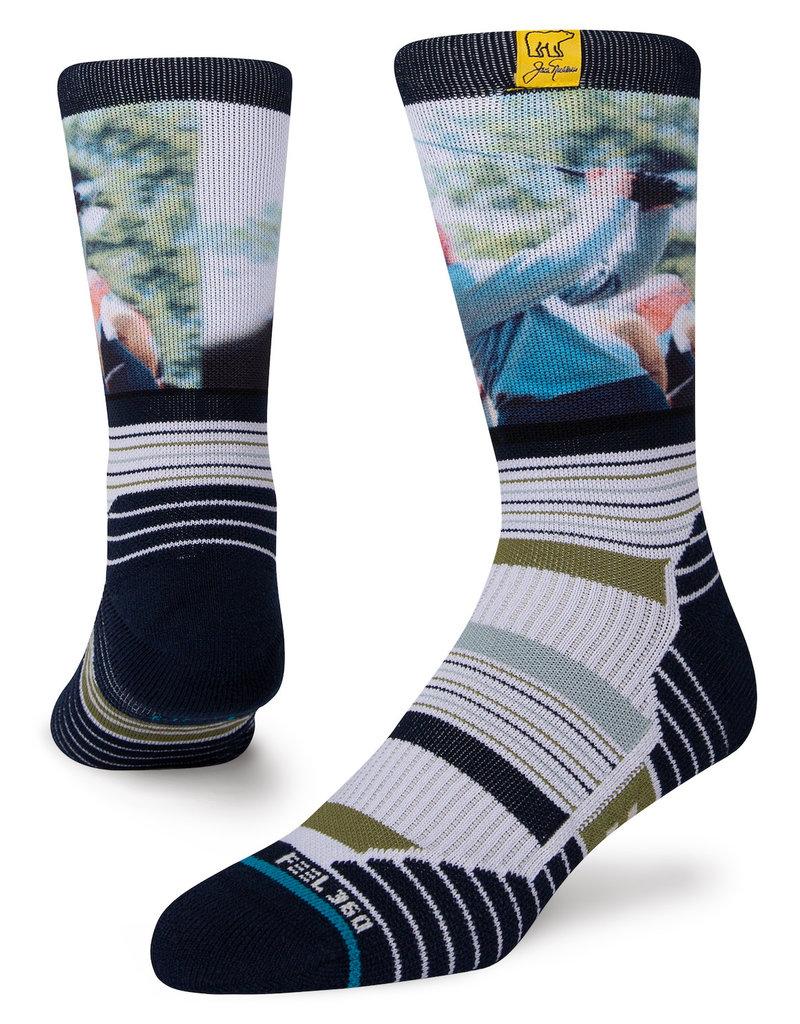 Stance Golden Bear Mid Socks- Large