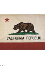 Venture Cotton Tea Stained California Flag
