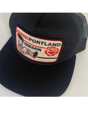 Venture Portland Black Townie Trucker