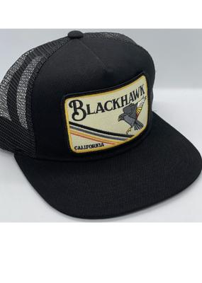 Venture Blackhawk Black Townie Trucker