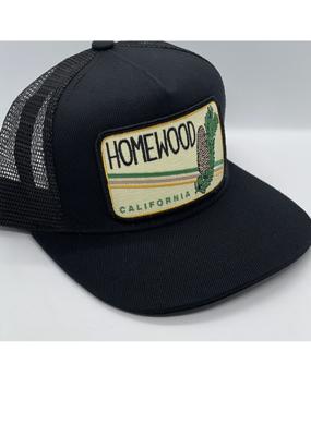 Venture Homewood Pine Cone Black Townie Trucker