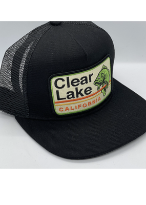 Venture Clear Lake Fish Black Townie Trucker