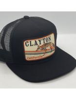 Venture Clayton Fox Black Townie Trucker