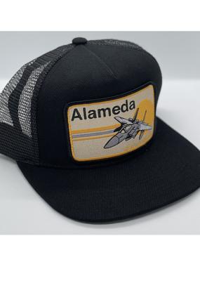 Venture Alameda Jet Black Townie Trucker