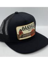 Venture Oakdale Black Townie Trucker